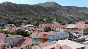 Santa Rosalia Richtung Berge...