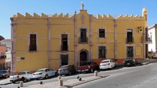 Wunderschön erhaltene Gebäude....