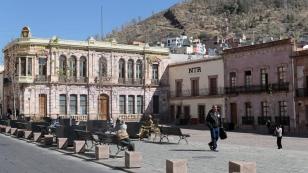 Auch hier wieder eine Plaza de Armas