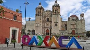 Prunkvoll - der Templo de Santo Domingo