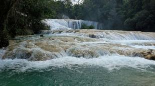 Wasserfall Agua Azul...