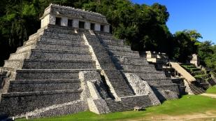 Templo de las Inscripciones erbaut auf 8 Ebenen