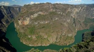 Aussicht vom Mirador Los Chiapa