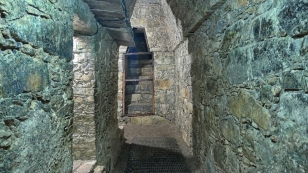 Gänge im Templo XIII