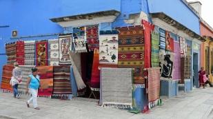 Weben von Teppichen hat Tradition