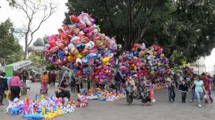 Ein Meer an Luftballons
