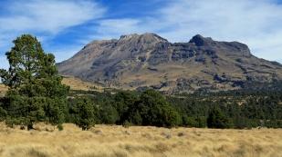 Klare Sicht auf den Iztaccíhuatl