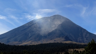 ...und den Popocatépetl...