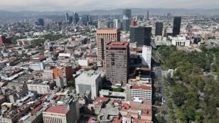 Aussicht vom Torre Latinoamericana