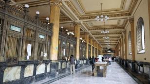 Atmosphäre im Palacio Postal