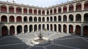 Innenhof des Palacio Nacional...