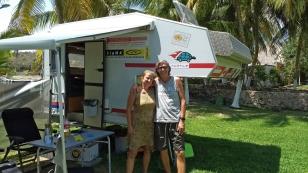 Margit und Gerhard aus Österreich haben ein Sabbatical Jahr genommen und sind nun unterwegs, um Kanada, die USA und Mexiko zu bereisen. Wir haben sie in Chetumal getroffen. Leider müssen sie nun langsam schon wieder Richtung Kanada. https://gemamobil.wordpress.com