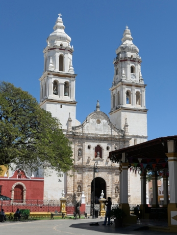 Die Kathedrale von Campeche