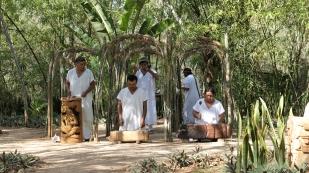 Maya-Zeremonie