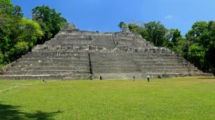 Caana-Pyramide mit einer Gesamthöhe...