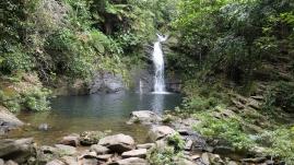 Baden direkt am Wasserfall möglich