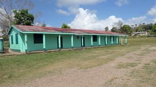 Hurrican-Shelter in vielen Orten zu finden