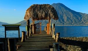 ...mit herrlichen Blick auf den See