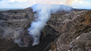 Der Vulkan Masaya...