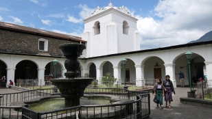 Kirche in Santiago...