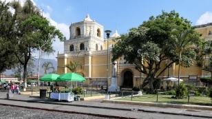 Die Kirche La Merced ist...