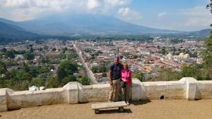 Blick vom Mirador Cerro de La Cruz