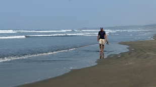 Am Strand von El Cuco...