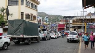 Jede Menge Verkehr in Matagalpa