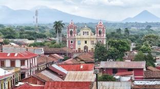 Blick zur Iglesia de Recolección