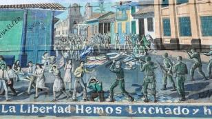 Demonstration gegen Somoza im Jahr 1959