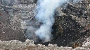 ...ist der aktivste Vulkan des Landes...