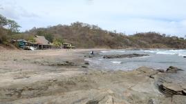 An der Playa Maderas...
