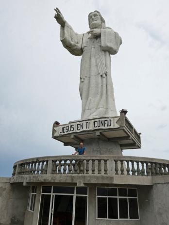 Von der Christusstatue aus...