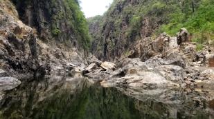 ...geht es in den Canyon...