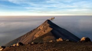 Volcán de Fuego morgens um 6