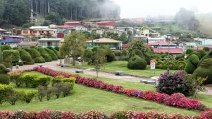 ...im Parque Francisco Alvarado...