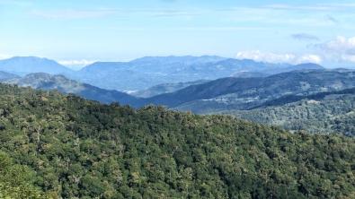 Blick vom Mirador de Quetzales