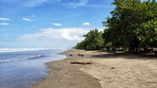 Der Strand von Las Lajas...