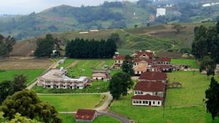 Sanatorium Durán vom Mirador aus