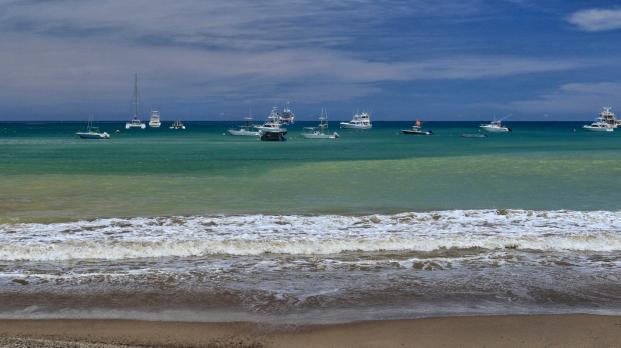 ...und die Boote schippern vor sich hin