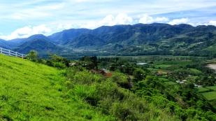 Herrliche Blicke über das Tal...