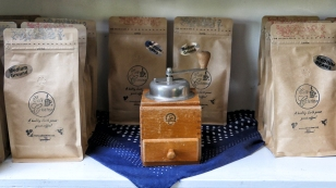 Die gute alte Kaffemühle
