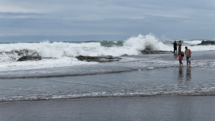 Kräftige Wellen