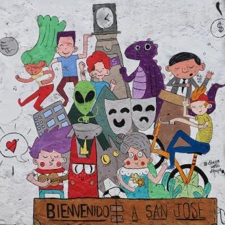 San José heißt uns willkommen