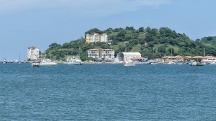 Insel Perico über den Damm erreichbar