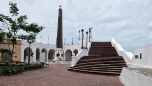 Denkmal für die französischen Kanalbauer