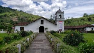 Die Kirche von Orosi...