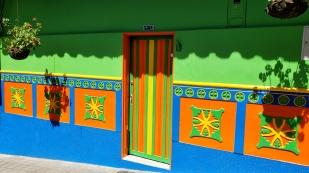 ...an den traditionellen Häusern...