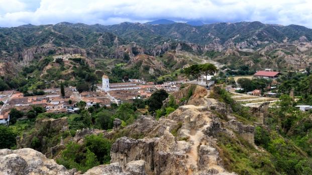 Toller Ausblick vom Mirador La Santa Cruz