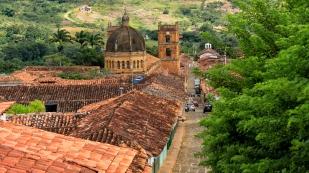 Blick auf die Catedral de la Inmaculada Concepción...